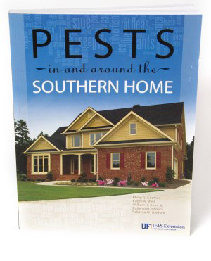 Figure 2. This fact sheet is excerpted from SP486: Pests in and around the Southern Home, which is available from the UF/IFAS Extension Bookstore. http://ifasbooks.ifas.ufl.edu/p-1222-pests-in-and-aroundthe-southern-home.aspx.