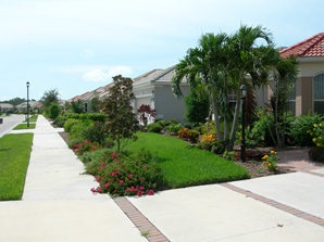 Figure 2.A Florida-Friendly landscape that is less traditional but aesthetically pleasing.