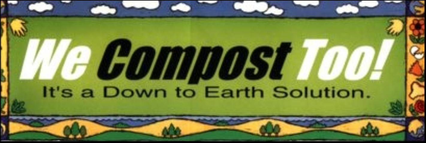 Figure 6.Sticker placed on recycling bins to make composting behavior more visible.