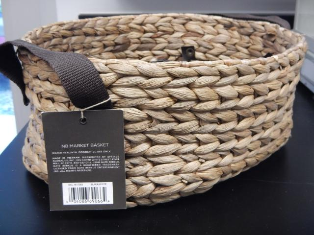 Figure 3. Basket made from waterhyacinth.