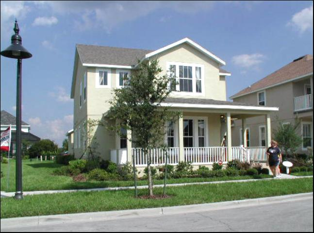 Figure 1.A home located in the Town of Harmony, Osceola County, Florida.