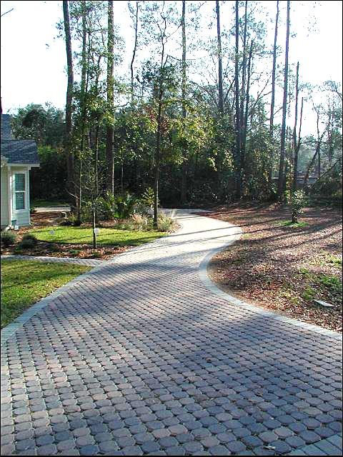 Figure 9.Pervious pavement installled for a driveway (Madera, Gainesville, FL).