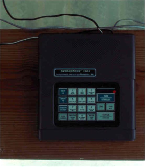 Figure 24.Alarm device that phones owner of deviations in set environmental parameters.