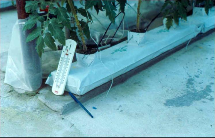 Figure 20.Thermometer for measuring floor temperature.